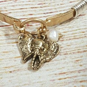 tipi Jewelry - 💎BOGO Boho Elephant Latch Bangle Bracelet Gold